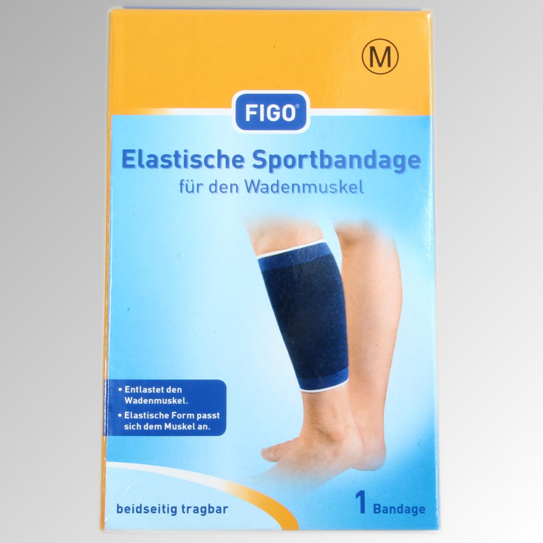 Elastische Sportbandage für den Wadenmuskel Größe M | eBay